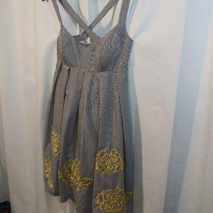 INC International Concepts Dresses - INC Striped Sundress 8 petite